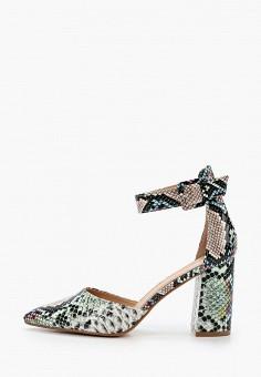 Туфли, La Bottine Souriante, цвет: мультиколор. Артикул: LA062AWIXZT1. Обувь / Туфли