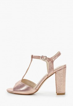 Босоножки, La Bottine Souriante, цвет: розовый. Артикул: LA062AWJGRC1. Обувь / Босоножки