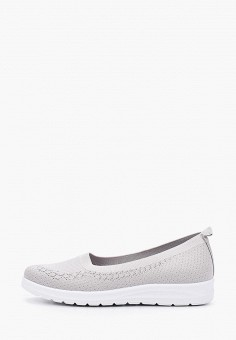 Слипоны, La Bottine Souriante, цвет: серый. Артикул: LA062AWJGRC6. Обувь / Слипоны