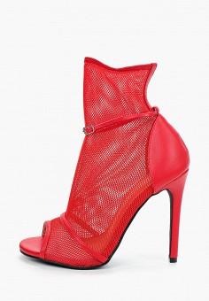 Ботильоны, La Bottine Souriante, цвет: красный. Артикул: LA062AWJHWZ0. Обувь / Ботильоны