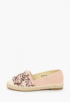 Эспадрильи, La Bottine Souriante, цвет: розовый. Артикул: LA062AWJHXY1. Обувь / Эспадрильи