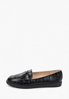 Лоферы, La Bottine Souriante, цвет: черный. Артикул: LA062AWJIEO8. Обувь / Туфли / Лоферы