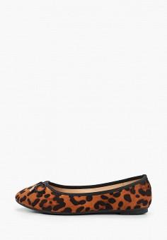Балетки, La Bottine Souriante, цвет: коричневый. Артикул: LA062AWKHQO3. Обувь / Балетки