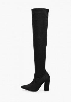 Ботфорты, La Bottine Souriante, цвет: черный. Артикул: LA062AWKHQQ1. Обувь / Сапоги / Ботфорты