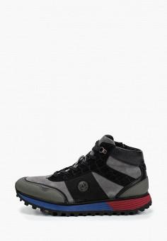 Ботинки, Lab-Milano, цвет: серый. Артикул: LA074AMHATE9. Обувь / Ботинки / Высокие ботинки