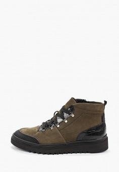 Ботинки, Lab-Milano, цвет: хаки. Артикул: LA074AMHATF7. Обувь / Ботинки / Низкие ботинки