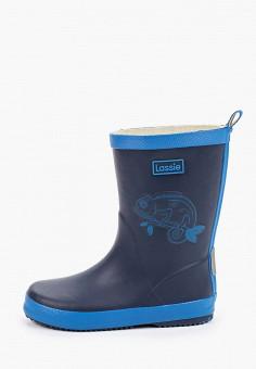 Резиновые сапоги, Lassie, цвет: синий. Артикул: LA078ABIIXQ6.
