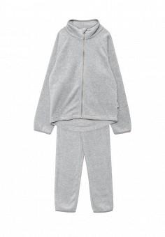 Костюм спортивный, Lassie, цвет: серый. Артикул: LA078EBPJW70. Мальчикам / Одежда
