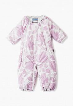 Комбинезон утепленный, Lassie, цвет: фиолетовый. Артикул: LA078EGFYEV2. Новорожденным / Одежда