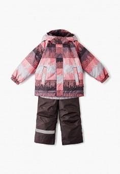 Костюм утепленный, Lassie, цвет: коричневый, розовый. Артикул: LA078EGFYEX0.