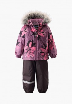Костюм утепленный, Lassie, цвет: фиолетовый. Артикул: LA078EGFYEX3. Новорожденным / Одежда