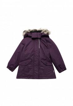 Куртка утепленная, Lassie, цвет: фиолетовый. Артикул: LA078EGUPZ58. Девочкам / Одежда / Верхняя одежда / Куртки и пуховики