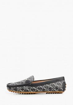 Мокасины, Lauren Ralph Lauren, цвет: черный. Артикул: LA079AWJBSM5. Обувь / Мокасины и топсайдеры