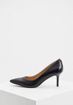 Туфли, Lauren Ralph Lauren, цвет: черный. Артикул: LA079AWJGIC5. Обувь / Туфли / Лодочки