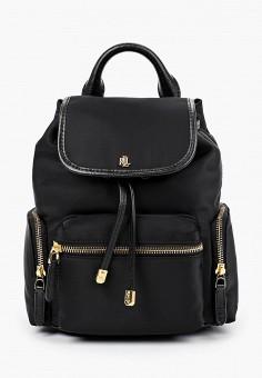 Рюкзак, Lauren Ralph Lauren, цвет: черный. Артикул: LA079BWHTVV1. Аксессуары / Рюкзаки / Рюкзаки