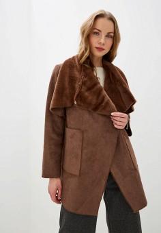 Дубленка, Lauren Ralph Lauren, цвет: коричневый. Артикул: LA079EWGHNP7. Одежда / Верхняя одежда / Шубы и дубленки