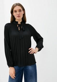 Блуза, Lauren Ralph Lauren, цвет: черный. Артикул: LA079EWHTXM0. Одежда / Блузы и рубашки