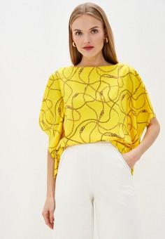 Блуза, Lauren Ralph Lauren, цвет: желтый. Артикул: LA079EWHTYU8. Одежда / Блузы и рубашки