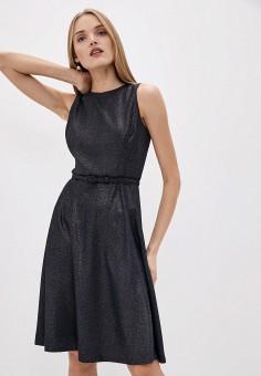 Платье, Lauren Ralph Lauren, цвет: синий. Артикул: LA079EWHTZD8. Одежда / Платья и сарафаны / Вечерние платья