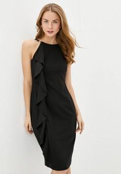 Платье, Lauren Ralph Lauren, цвет: черный. Артикул: LA079EWHUAM8. Одежда / Платья и сарафаны / Вечерние платья