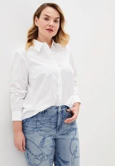 Рубашка, Lauren Ralph Lauren, цвет: белый. Артикул: LA079EWJBSM1. Одежда / Блузы и рубашки / Рубашки