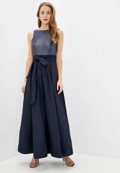 Платье, Lauren Ralph Lauren, цвет: синий. Артикул: LA079EWJBTH9. Premium