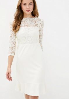 Платье, Lauren Ralph Lauren, цвет: белый. Артикул: LA079EWJBTP5. Premium