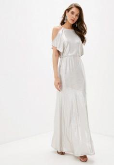 Платье, Lauren Ralph Lauren, цвет: золотой. Артикул: LA079EWJRHQ1. Одежда / Платья и сарафаны / Вечерние платья