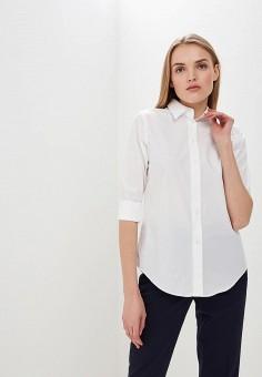 Рубашка, Lauren Ralph Lauren, цвет: белый. Артикул: LA079EWZWP49. Одежда / Блузы и рубашки / Рубашки