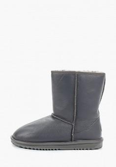 Полусапоги, Lambface, цвет: серый. Артикул: LA093AMHQYJ5. Обувь / Сапоги  / Угги и унты
