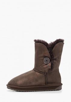 Полусапоги, Lambface, цвет: коричневый. Артикул: LA093AWHNXE9. Обувь / Сапоги / Угги и унты