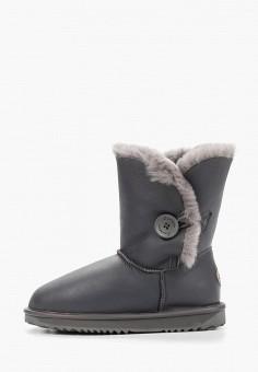Полусапоги, Lambface, цвет: серый. Артикул: LA093AWHNXF3. Обувь / Сапоги / Угги и унты