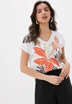Пуловер, Laurel, цвет: белый. Артикул: LA678EWJFWF9. Одежда / Джемперы, свитеры и кардиганы / Джемперы и пуловеры