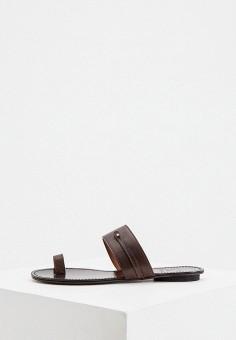 Сабо, L'Autre Chose, цвет: коричневый. Артикул: LA932AWHZNU2. Обувь / Сабо и мюли