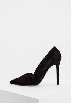 Туфли, L'Autre Chose, цвет: черный. Артикул: LA932AWJXOR5. Обувь / Туфли / Лодочки