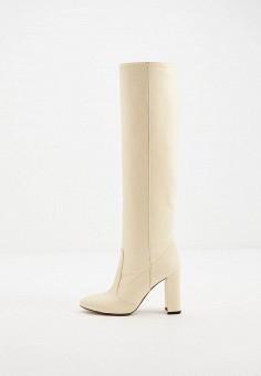Ботфорты, L'Autre Chose, цвет: бежевый. Артикул: LA932AWJXOS4. Обувь / Сапоги