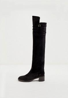 Ботфорты, L'Autre Chose, цвет: черный. Артикул: LA932AWJXOT3. Обувь / Сапоги / Ботфорты