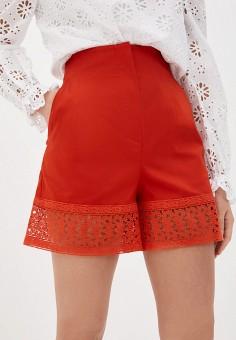 Шорты, L'Autre Chose, цвет: красный. Артикул: LA932EWHZRF1. Одежда / Шорты
