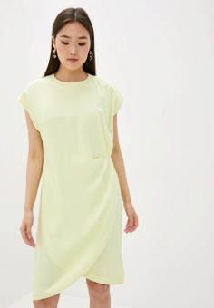Платье, L'Autre Chose, цвет: желтый. Артикул: LA932EWHZRK2. Premium