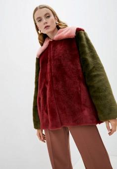Шуба, L'Autre Chose, цвет: мультиколор. Артикул: LA932EWJYAD5. Одежда / Верхняя одежда / Шубы и дубленки