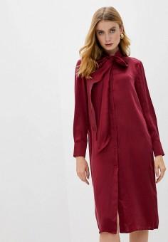 Платье, L'Autre Chose, цвет: бордовый. Артикул: LA932EWJYAE0. Одежда / Платья и сарафаны / Вечерние платья