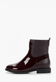 Ботинки, Laura Valorosa, цвет: бордовый. Артикул: LA948AWGSRG0. Обувь / Ботинки / Высокие ботинки