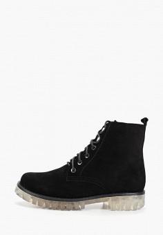 Ботинки, Laura Valorosa, цвет: черный. Артикул: LA948AWGSRG1. Обувь / Ботинки / Высокие ботинки