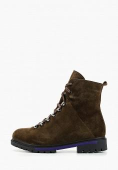 Ботинки, Laura Valorosa, цвет: коричневый. Артикул: LA948AWGSRG6. Обувь / Ботинки / Высокие ботинки