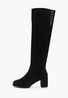 Ботфорты, Laura Valorosa, цвет: черный. Артикул: LA948AWGSRH4. Обувь / Сапоги / Ботфорты