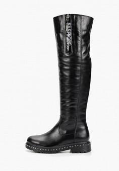 Ботфорты, Laura Valorosa, цвет: черный. Артикул: LA948AWGSRI0. Обувь / Сапоги / Ботфорты