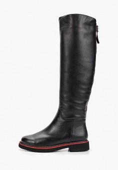 Ботфорты, Laura Valorosa, цвет: черный. Артикул: LA948AWGSRK5. Обувь / Сапоги / Ботфорты