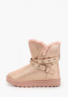 Полусапоги, L.Day, цвет: розовый. Артикул: LD001AWHCSO1. Обувь / Сапоги / Угги и унты