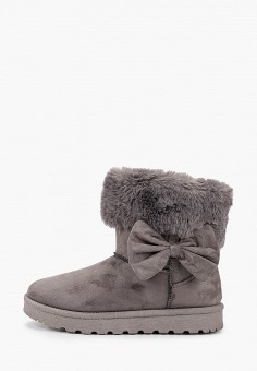 Полусапоги, L.Day, цвет: серый. Артикул: LD001AWHCSO5. Обувь / Сапоги
