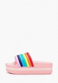 Сланцы, L.Day, цвет: розовый. Артикул: LD001AWIYCA1. Обувь / Резиновая обувь